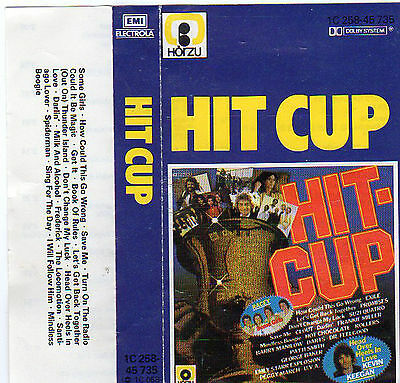 HIT Cup 79 MC Tape MUSIKKASSETTE 1979 V/A Darts CLOUT Exile RACEY Galaxy EBONY