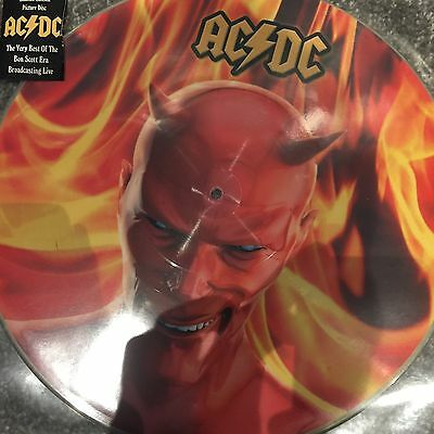 Ac/dc - Hot As Hell - New Limited Edition Picture Disc Lp Vinyl