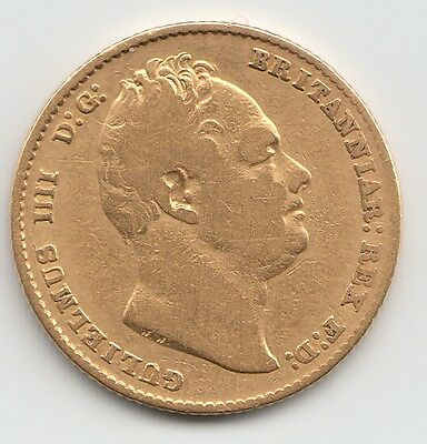 1836 William IV Gold Sovereign - Great Britain