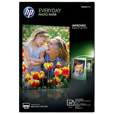 HP Everyday Photo Paper Glossy 4x6 NEW