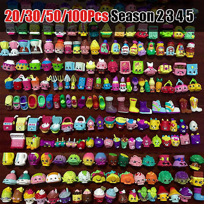 20/30/50/100 Pcs Random Shopkins of Season 2 3 4All different Loose Shopkins toy