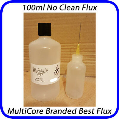 SUPER FLUX LIQUID NO CLEAN FLUX 100ml MultiCore Best Brand UK SMD RROD YLOD GPU
