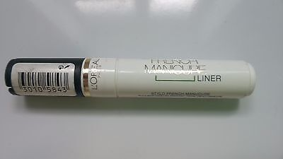 Loreal Le Stylo French Manicure Liner  White Pen for Nail Tips
