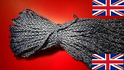 PARACORD cord rope string line 4mm poly synthetic sailing tie lanyard corde UK