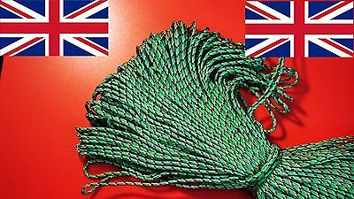 PARACORD cord rope string line 2mm poly synthetic sailing tie lanyard corde UK