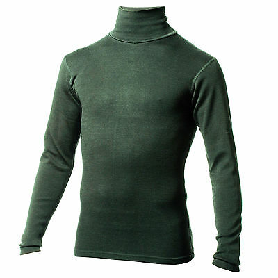 Minus33 Merino Wool Kinsman Midweight Turtle Neck (Forest Green)