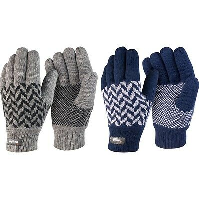Adult Unisex Result Pattern Winter Warm Thermal Thinsulate? Gloves