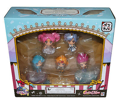 Sailor Moon SuperS Petit Chara Mini Figure Set of 5 Megahouse Small Lady Helios