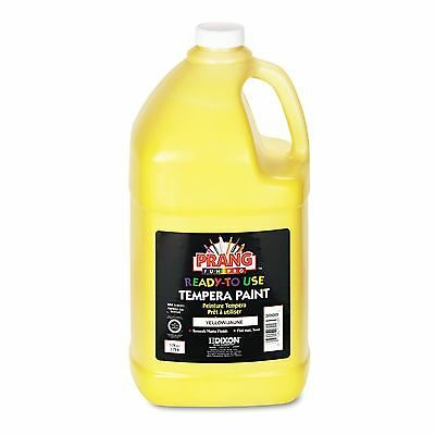 Prang 22803 Ready-to-Use Tempera Paint  Yellow  1 gal