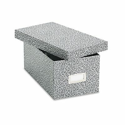 Oxford 40589 Reinforced Board Card File  Lift-Off Cover  Holds 1 200 4 x 6