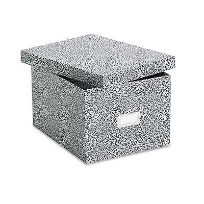 Oxford 40591 Reinforced Board Card File  Lift-Off Cover  Holds 1 200 6 x 9