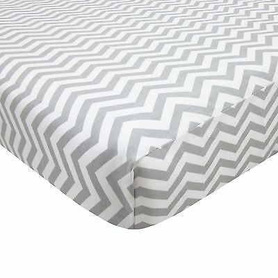 American Baby Company 100-Percent Cotton Percale Fitted Portable/Mini Crib Sheet