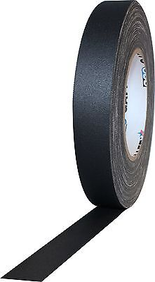 ProTapes Pro Gaff Matte Cloth Gaffer's Tape with Rubber Adhesive, 11 mil Thickne