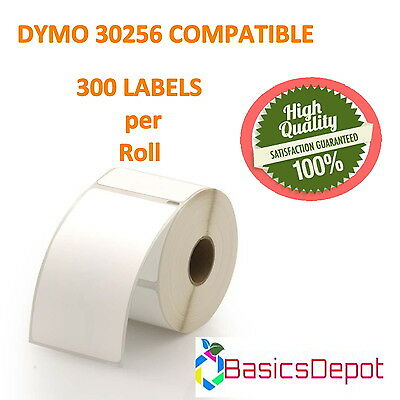 """Dymo 30256 Compatible Large Shipping Labels 2-5/16"""" x 4"""" 1 Roll-BasicsDepot"""