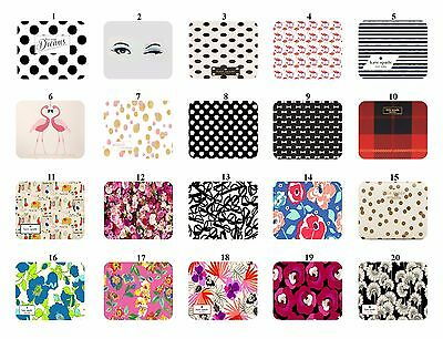 "Kate Spade mousepad good quality "" Select Number Your Favorite Mousepad"""