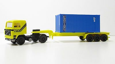 "Spur HO Herpa 839035 VOLVO LKW Containersattelzug ""CHOYANG"" (3600)"