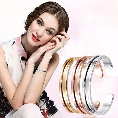 Hair Tie Rubber Band Holder Bangle Bracelet Cuff Gold Silver Rose Gold Gift Uk