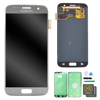 Silver Display LCD Touch Screen Digitizer Assembly for Samsung Galaxy S7 G930