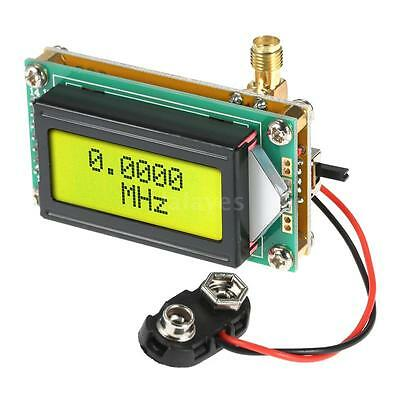 New High Accuracy 1-500MHz Range Frequency Counter Tester Measurement Meter A9W7
