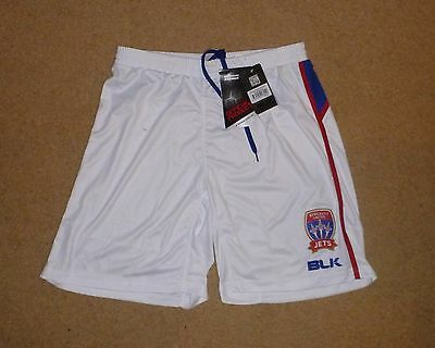 New Tagged Medium Mens Newcastle United Jets Home Soccer Shorts Football Shorts