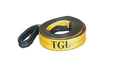 2 20 Tow Strap Recovery Capacity Reinforced Loops 2quot Straps Tuv Certified X20