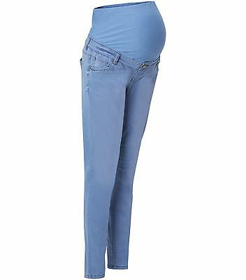 Maternity New Look Super Skinny Over The Bump Jeans Pale Blue 8-20 Leg various