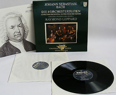 2Lp Box Bach - Die 4 Orchestersuiten - Raymond Leppard English Chamber Orchestra