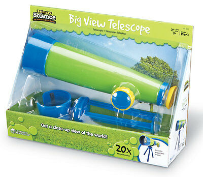 Learning Resources Primary Science Big View Telescope - NEW