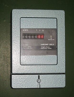 Sangamo SPA 01 Single Phase Watthour meter