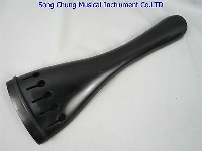 Great1pcs blank double bass 5strings 4/4 tailpieces with tail gut ,nature Ebony