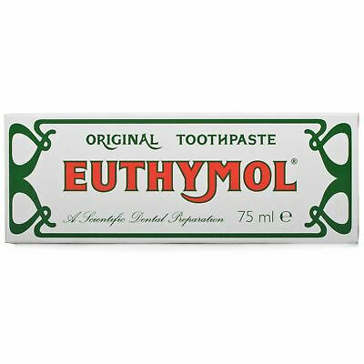 Euthymol Original Traditional Toothpaste 75ml  1 2 3 6 Packs