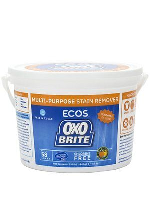 Earth Friendly Oxo Brite for Laundry and Stain Removal 3.6 lbs (2-Pack)