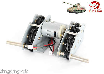 Heng long steel gearbox for 1/16 Jagdpanther Panther G King tiger ZTZ99,99A  UK