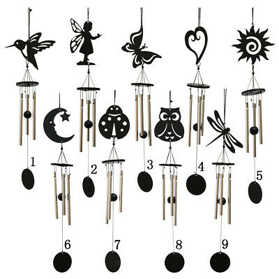 Hanging Metal Wind Chime Decorative Outdoor Ornament Garden Home Mobiles Bell