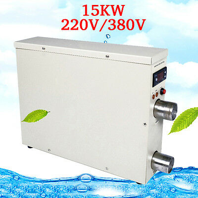 Swimming Pool Bath Thermostat Equipment 15KW 220V/380V W78t Electric Heater Main