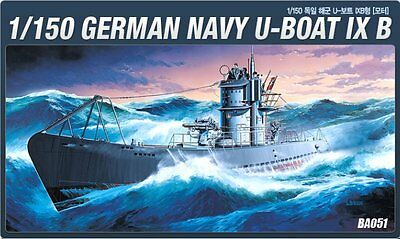 Academy Model kit 1/150 German NAVY U-Boat IX B #14203