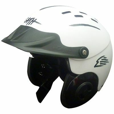 GATH Gedi Watersports Helmet with Peak (White)