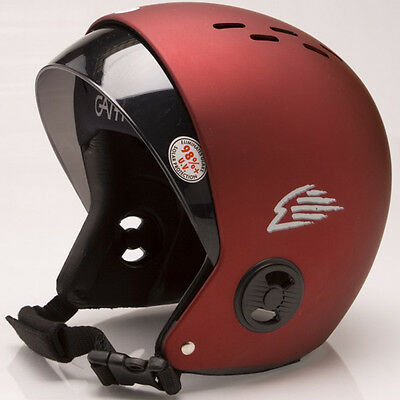 GATH RV Retractable Visor Water Sports Helmet SIZE XL (Red)