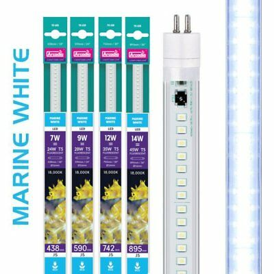 Arcadia T5 LED Aquarium Bulb Lamp Tube Light - JUWEL Sizes - Marine White