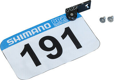 PRO Intergrated Race Number Mount Black
