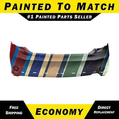 Fits Toyota Corolla 09-10 Rear Bumper Local Pickup Painted To Match TO1100264