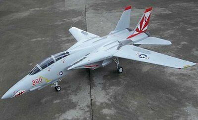 F-14 Tomcat  80 inch Wing   Giant Scale RC AIrplane PDF Plans on a CD