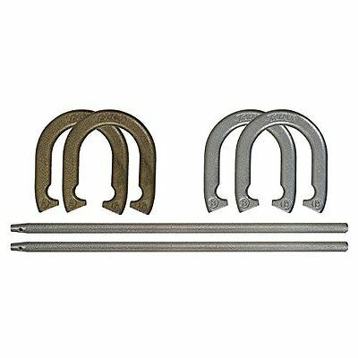 Horseshoe Sets Recreational Sports Game Horseshoes Steel Outdoor Toss Competion