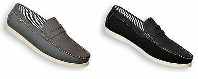 D555 ADONIS Slip On Shoe in Size UK10 to UK15, 2 Color Options