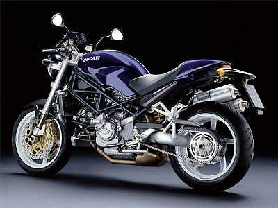MANUALE OFFICINA DUCATI MONSTER S4 R MY 2003 WORKSHOP MANUAL SERVICE CD e-MAIL