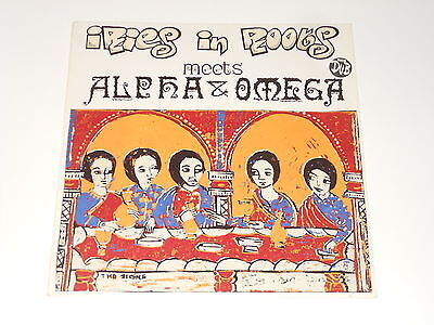 Iries In Roots meets Alpha & Omega - LP - The Signs - DE 1994 - Buback
