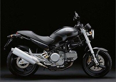 MANUALE OFFICINA DUCATI MONSTER M600 600 DARK M750 MY 1998-2001 WORKSHOP e-MAIL