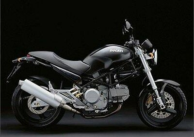 MANUALE OFFICINA DUCATI MONSTER M600 600 DARK MY 1998 - 2001 WORKSHOP e-MAIL