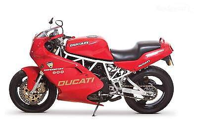 Manuale Officina Ducati 750 Ss 900 Ss  My 1991 - 1998  Workshop Manual E-Mail