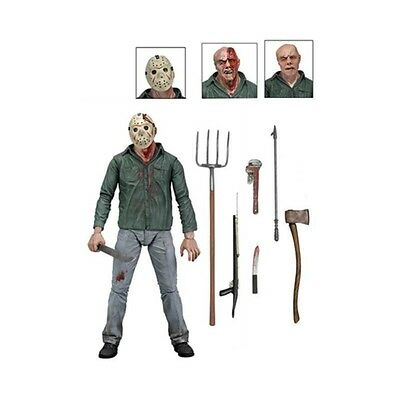 Friday The 13Th Part 3 Ultimate Jason Voorhees Deluxe Action Figure Neca